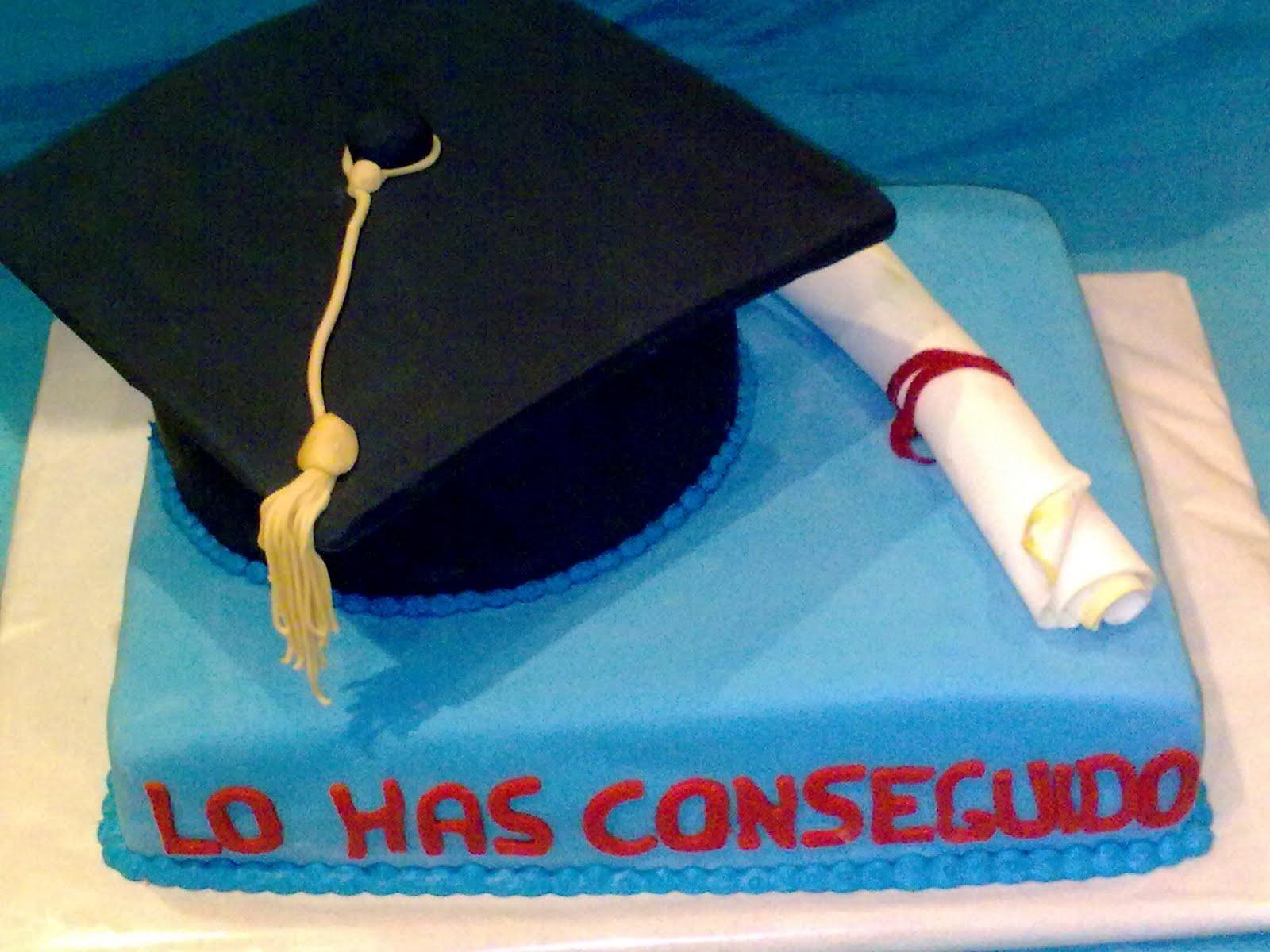 Bizcocho De Graduacion