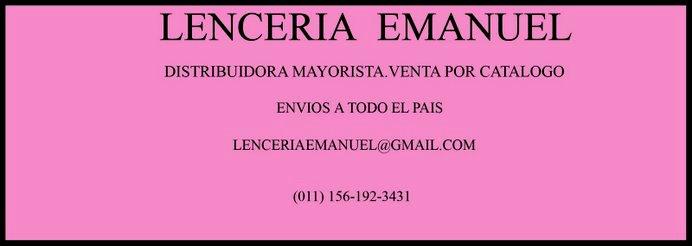 LENCERIA  EMANUEL