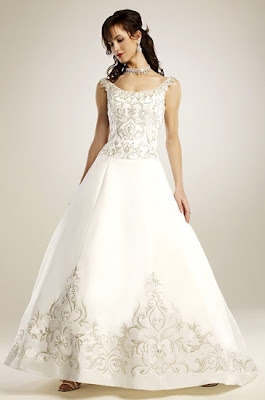 فساتين زفاف 2010 11