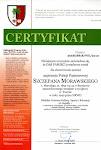 Certyfikat zaświadczający o psadzeniu dębu upamiętniającego Szczepana Morawskiego