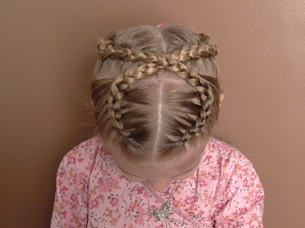 New Cute Braid Hairstyles For Little Girls Cute Long Little Girls