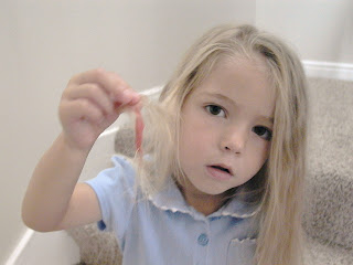 Little Girl's Hairstyles – Gum in the hair oh my!