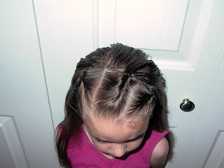 Little Girl's Hairstyles – Bobby Pin Rolls