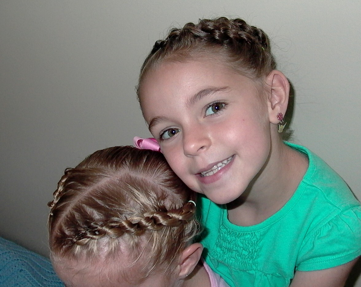 Simple braid for little girl