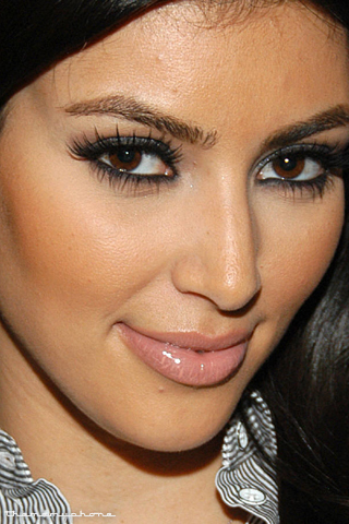 the amazing Kim kardashian eye