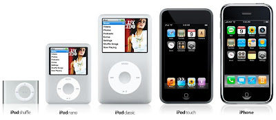 iPod new line