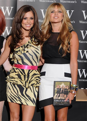 Nadine Coyle and Cheryl Cole hot