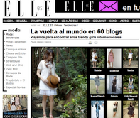 Featured on Elle Spain