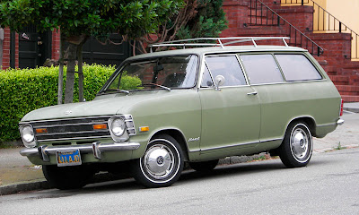 1970 opel kadett station wagon