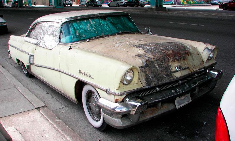 California streets san francisco street sighting 1956 for 1956 mercury montclair phaeton 4 door hardtop