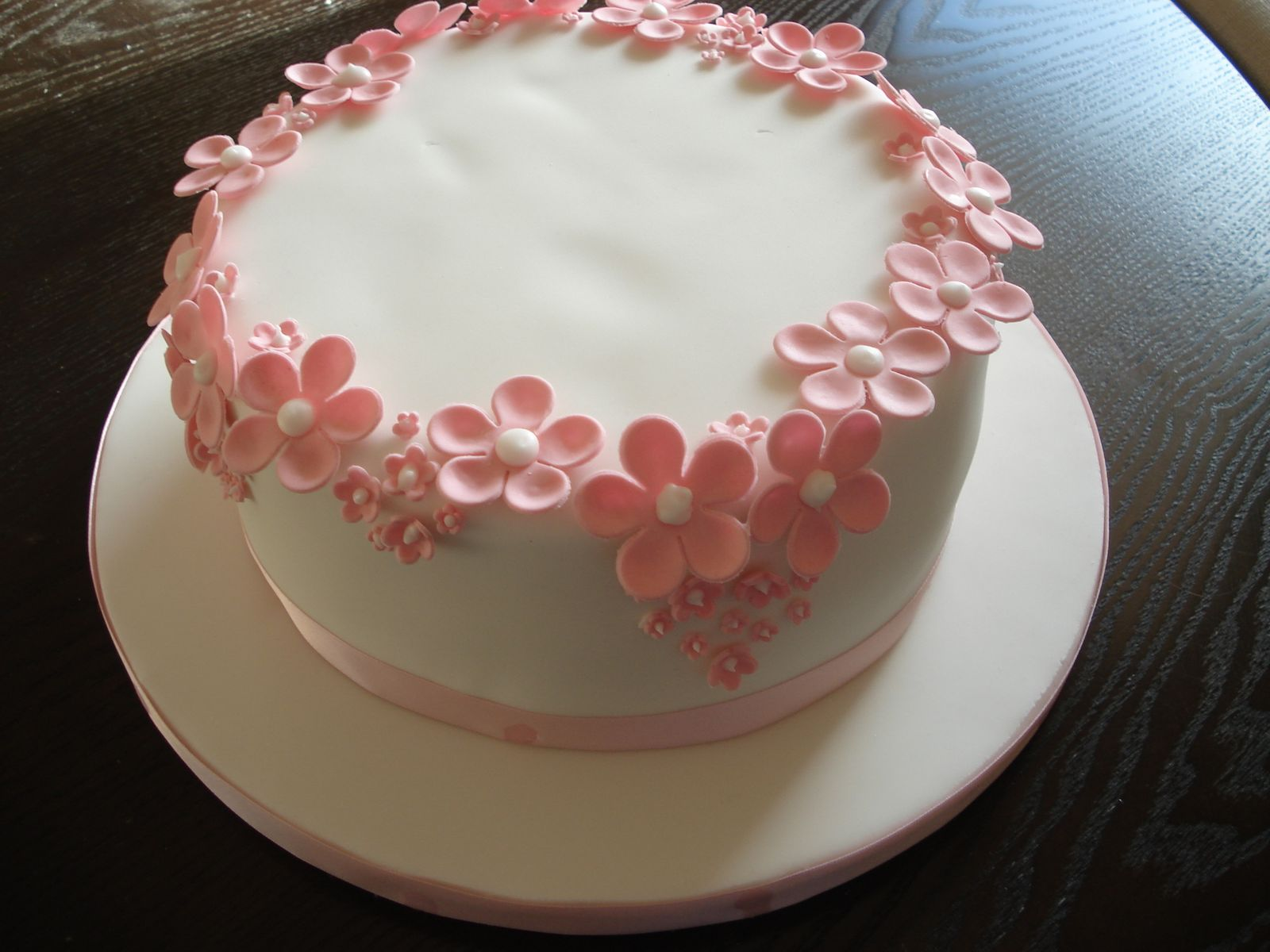 Flower Birthday Cake For Girl Image Inspiration of Cake and