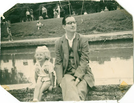 Me with my dad aged about three