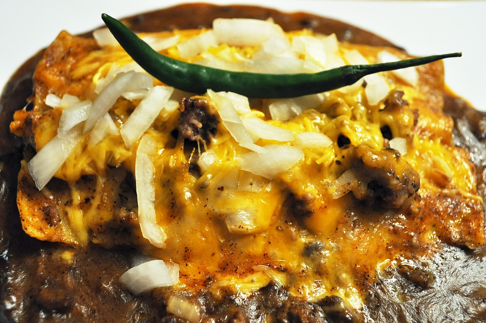 My Cocina, My Kitchen: Tex-Mex Beef Enchiladas