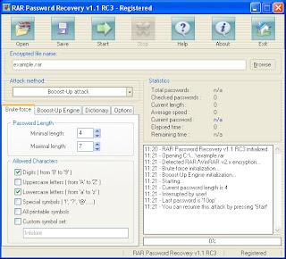 rar password recovery Winrar Password Remover 2014
