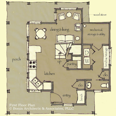 Small Efficent Homes Plans Floor Plans