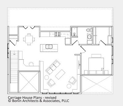 3 Bedroom Apartment Over Garage Plans