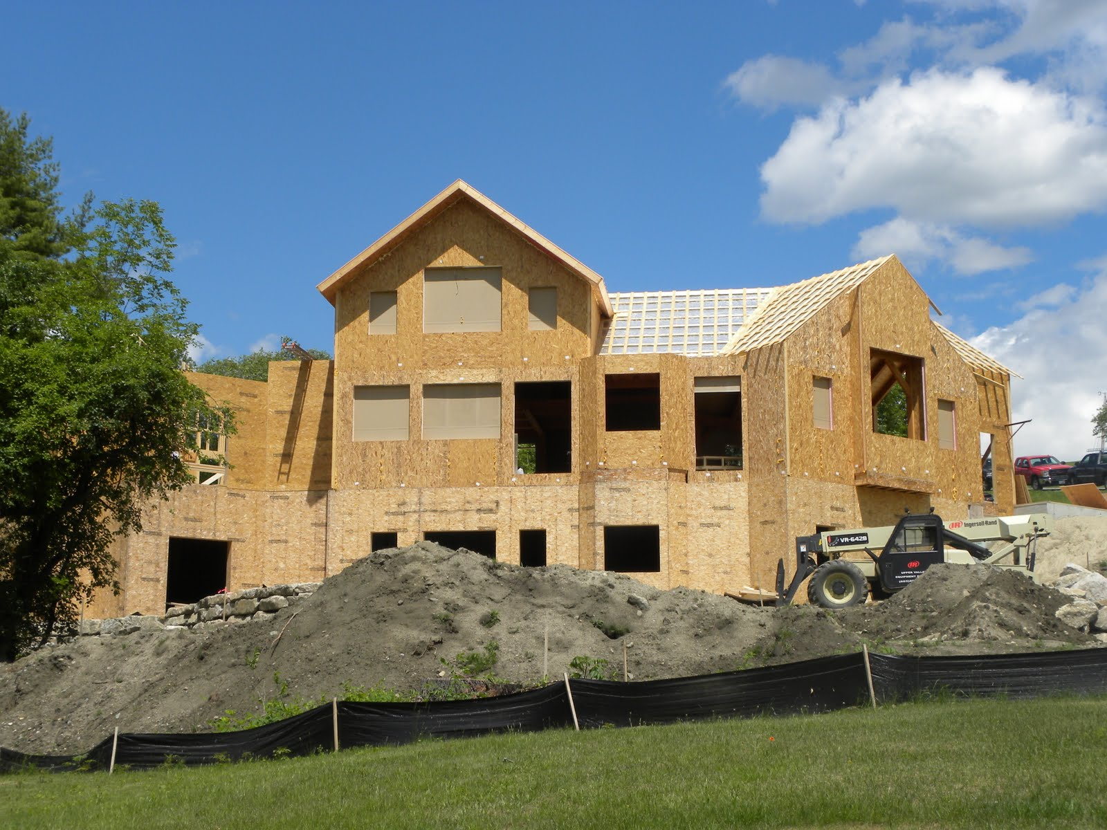 Post and beam timber frame blog insulated panels for Insulated panel homes