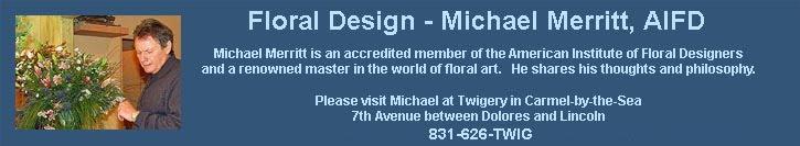 Floral Design - Michael Merritt, AIFD