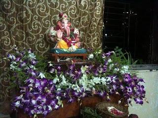 Ganapati Bappa Morya towards pluto for now