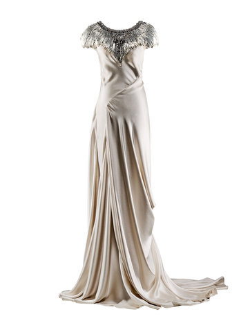 Swan Song. Saw this beatiful dress by the late Alexander McQueen on little