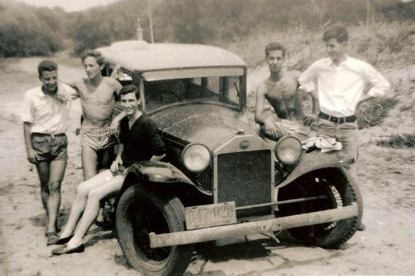 1922 Lancia Lambda. El Lancia Lambda con su