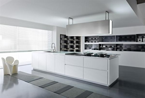 Home design decorating modern and luxury italian kitchen design trend 2011 unique dune - Italian kitchen design ...