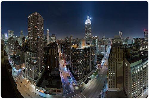 Nueva York iluminada (bonitas fotografías nocturnas)
