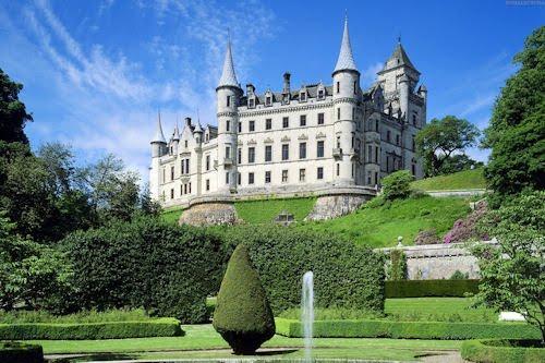 Castillos de verano or Summer castles (21 fotos)
