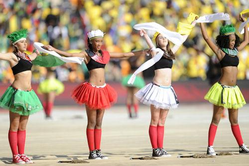 Apertura oficial de la Copa del Mundo Sudáfrica 2010 (40 fotos gigantes)