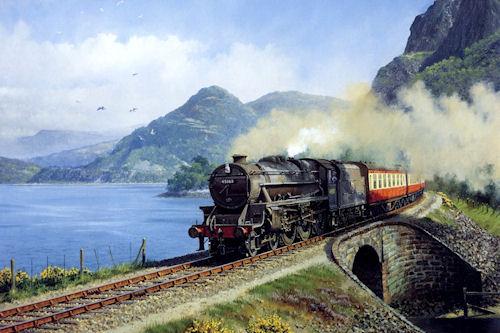 Trenes y locomotoras I (enormes caballos de hierro)