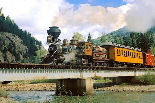 Trenes y locomotoras IV (máquinas por las praderas)