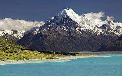 Fotografías de volcanes, ríos, montañas y nevados