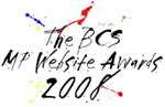 the logo for the BCS Best MP websites 2008