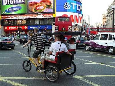 a pedicab
