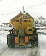 a gritting lorry
