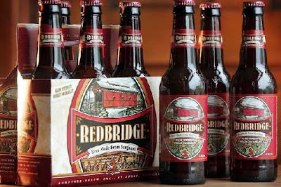 Bottles of 'Redbridge' Beer