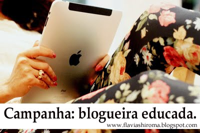 Campanha: Blogueira educada