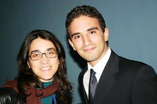 Nadia Cherif et Mehdi Kattou