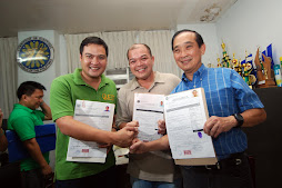 Gov. Migs,Vice Gov.  Steve, & Businessman Roy Chiongbian