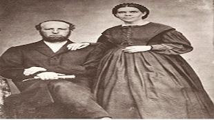 Elena G. White y su esposo.
