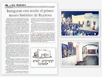 INAUGURAN MUSEO HISTORICO REYNOSA