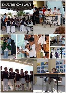 Enlazarte con el Arte en Escuelas Primarias de Reynosa