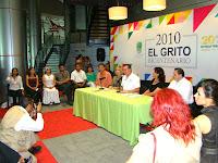 RUEDA DE PRENSA CON EL ALCALDE LIC. OSCAR LUEBBERT - EVENTOS BI CENTENARIO 2010