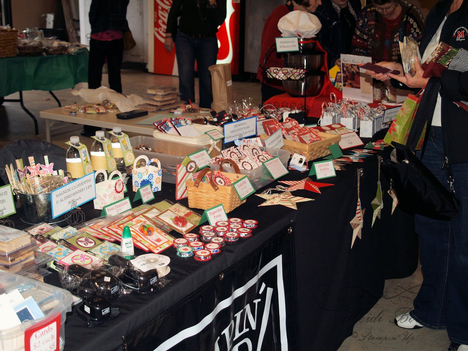Good Christmas Craft Bazaar Ideas Part - 7: Craft Bazaar!