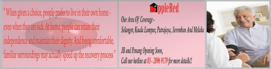 Khidmat Jururawat Bergerak Professional Di Rumah Anda/Nursing Care at Your Own Home