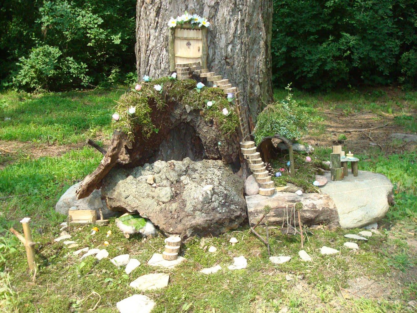 Constructing An Epic Fairy Garden