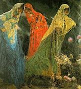 Las Parcas, 1913 (josã© villegas cordero)