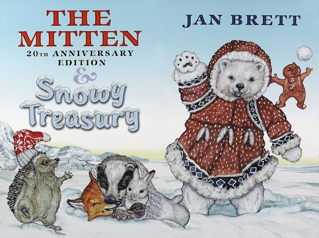 the mitten a ukrainian folk tale retold and illustrated by jan brett ...