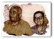 Kızı Tevhide ve damatlarından Mustafa Dazkır