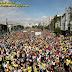Marcha para Jesus reúne 2 milhões segundo a polícia militar